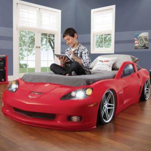 Step 2 Lit voiture Corvette Chevrolet évolutif pour enfant