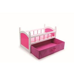 Legler 2936 - Lit de poupée rose