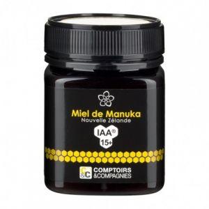 Comptoirs et Compagnies Miel de Manuka IAA 15+ - 250 g Miel