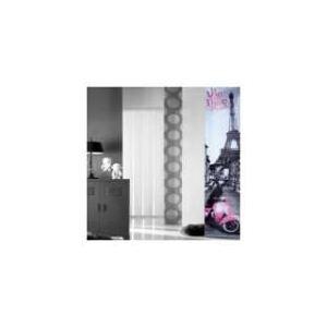 Panneau japonais tamisant Vie en Rose (45 x 260 cm)