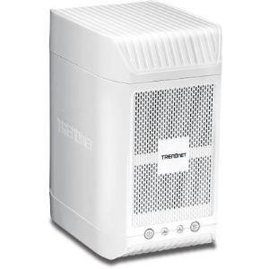 "TrendNet TN-200 - Boîtier NAS 2 baies 3.5"" Ethernet"