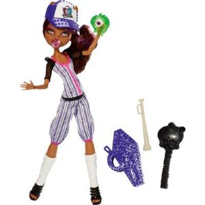 Mattel Monster High Clawdeen Fan de sport