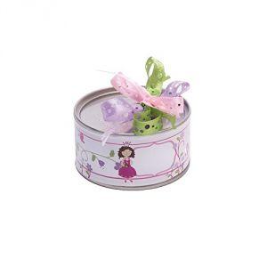 Boîte de conserve pour dragées Princesse