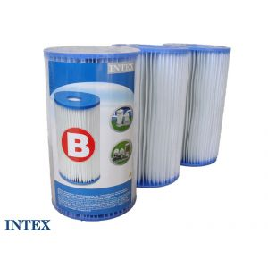 "Intex 29005 - 3 cartouches de filtration ""B"""