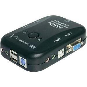 Delock 11348 - Switch KVM 2 vers 1 VGA avec USB et audio