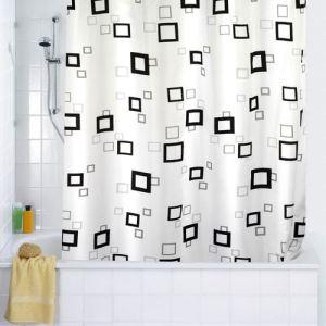 Wenko Rideau de douche Quadro (180 x 200 cm)