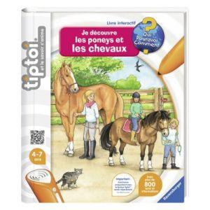 Ravensburger Tiptoi : Je découvre les poneys et les chevaux