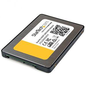 StarTech.com 25S22M2NGFFR - Adaptateur pour disque dur M.2 vers SATA