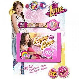 Set portefeuille et montre digitale pour fille Soy Luna