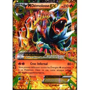 Asmodée Méga Démolosse Ex - Carte Pokémon 22/162 Xy Impulsion Turbo
