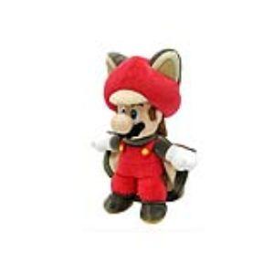 Together Peluche Super Mario : Mario écureuil volant 36 cm