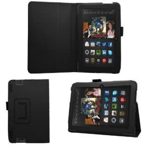 """Samrick Etui folio portefeuille en cuir pour Kindle Fire HDX 8,9"""""""