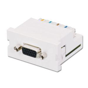 Lindy 60538 - Module extender VGA Cat.5 pour prises murales