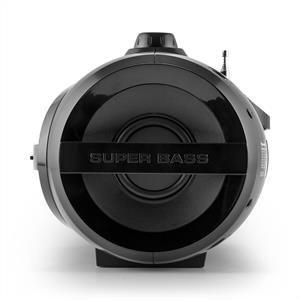 Auna Soundblaster M Boombox 3.0 - Poste stéréo CD USB, slot SD avec tuner FM PLL et interface Bluetooth 3.0.