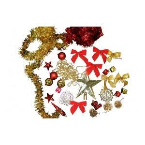 Kit de 80 décorations pour sapin de Noël