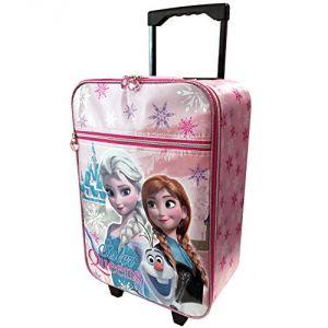 Valise à roulettes pour enfant Elsa et Anna La Reine des Neiges