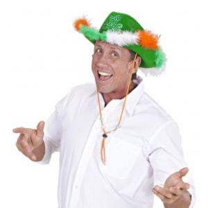 Widmann Chapeau de cowboy trèfle Saint-Patrick adulte