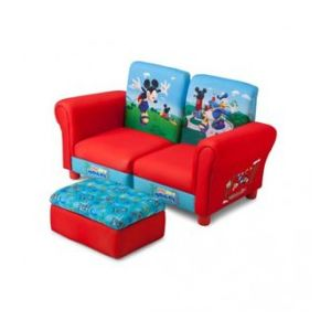 Delta Children Sofa et pouf Mickey Mouse