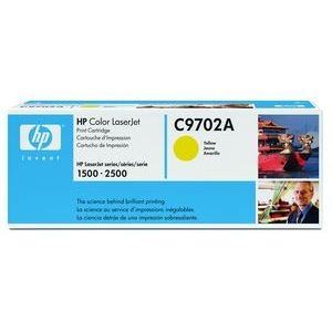 HP C9702A - Toner 121A jaune 4000 pages