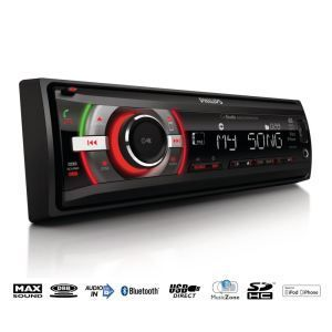 Philips CE152 - Autoradio USB/SDHC/iPod/iPhone Bluetooth (4 x 50 Watts)