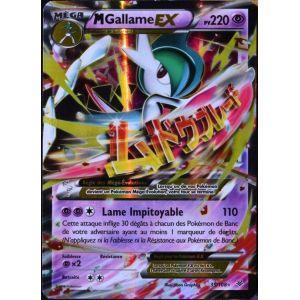 Asmodée M Gallame Ex - Carte Pokémon Ultra Rare XY 6 Ciel rugissant