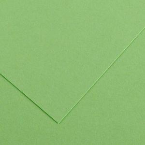 Canson 200040064 - Feuille Iris Vivaldi 50x65 120g/m², coloris vert pomme 27