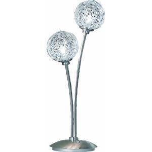 Lampe Womble 2 ampoules en acier
