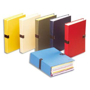 5* office 25 chemises extensible à sangle (24 x 32 cm)