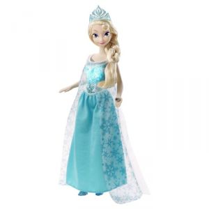 Mattel Poupée La Reine des neiges : Princesse lumière Elsa
