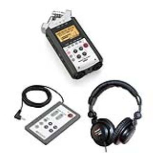 Zoom H4N + Télécommande RC 04 + Casque de monitoring