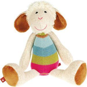 Sigikid Peluche Mouton Sweety avec corps tricoté 30 cm