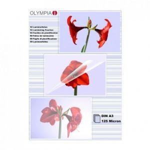 Olympia 9175 - Pochettes de plastification à chaud DIN A3 125 microns