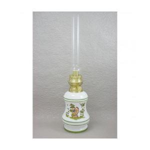 Gaudard Lampe à pétrole Moustiers en faïence en forme de toupie (480 mm)