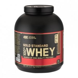 Optimum nutrition Protéine 100% Whey Gold Standard Caramel Toffee Fudge 2,2 kg