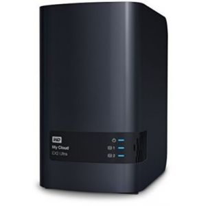 Western Digital WDBVBZ0120JCH - My Cloud EX2 Ultra Serveur NAS Externe 2 Baies 12 To USB 3.0/Gigabit Ethernet