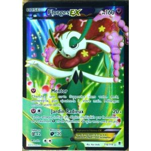 Asmodée Florges - Carte Pokémon XY04 Ex Ultra Rare Full Art