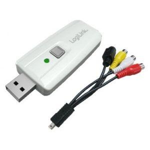 Logilink VG0011 - Adaptateur USB 2.0 Audio/Video avec bouton déclencheur pour Mac et PC