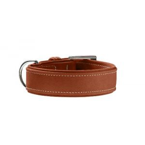 Hunter Hunting - Collier en cuir nubuck pour chien