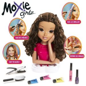 Giochi Preziosi Tête à coiffer Moxie Girlz - Magic Hair : Sophina