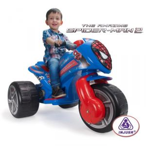Injusa Scooter électrique Trimoto Waves Spiderman 6 V