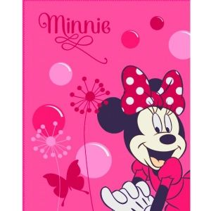 Plaid polaire Minnie Mouse (110 x 140 cm)