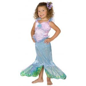 Déguisement sirène enfant fille (taille au choix)