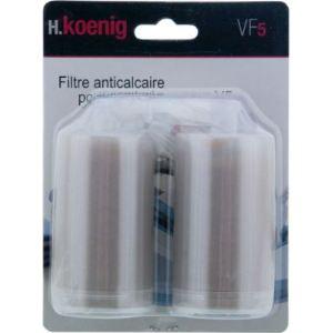 H.Koenig Filtres anticalcaire pour centrale vapeur V5