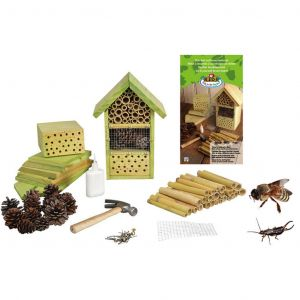 Esschert design KG153 - Hôtel à insectes bois à monter