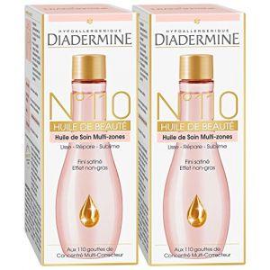 Diadermine n°110 - Huile de Beauté 100 ml - Lot de 2