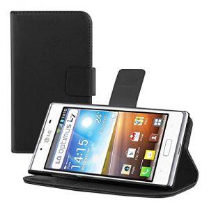 Kwmobile 17079 - Housse en cuir pour LG Optimus L7 P700