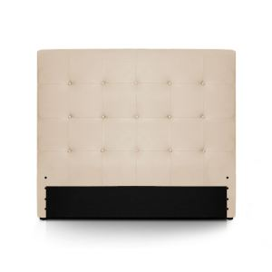 Menzzo Tête de lit Luxor en simili cuir (140 x 122 cm)