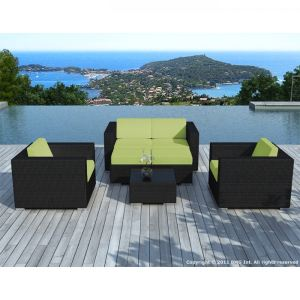 salon de jardin vert anis comparer 70 offres. Black Bedroom Furniture Sets. Home Design Ideas