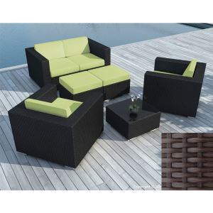 salon de jardin resine vert comparer 47 offres. Black Bedroom Furniture Sets. Home Design Ideas