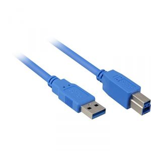 Sharkoon Cable USB 3.0 type AB mâle/mâle 1m